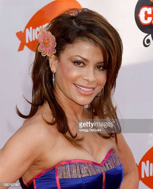 Paula Abdul during Nickelodeon's 18th Annual Kids Choice Awards Arrivals at UCLA Pauley Pavilion in Westwood California United States