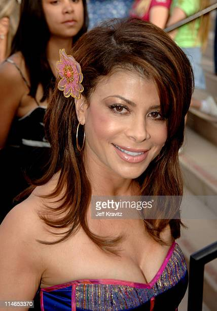 Paula Abdul during Nickelodeon's 18th Annual Kids Choice Awards Orange Carpet at Pauley Pavilion in Los Angeles California United States