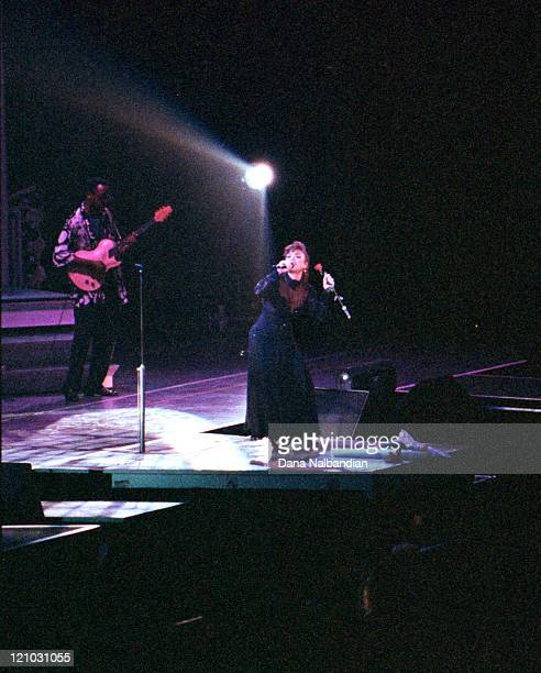 Paula Abdul during Paula Abdul Performs at the Tacome Dome May 1992 at Tacoma Dome in Tacoma Washington United States