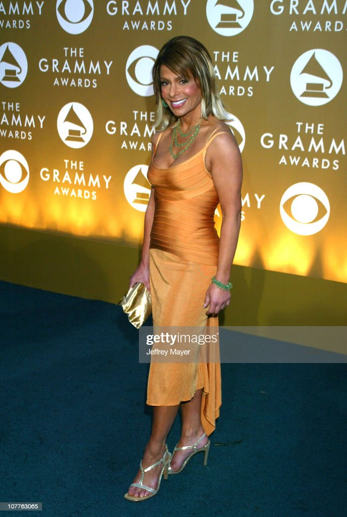<a gi-track='captionPersonalityLinkClicked' href=/galleries/search?phrase=Paula+Abdul&family=editorial&specificpeople=202119 ng-click='$event.stopPropagation()'>Paula Abdul</a> during The 46th Annual GRAMMY Awards - Arrivals at Staples Center in Los Angeles, California, United States.