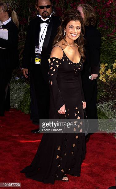 Paula Abdul during The 54th Annual Primetime Emmy Awards Arrivals at The Shrine Auditorium in Los Angeles California United States