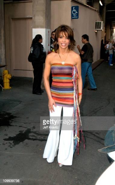 Paula Abdul during Wango Tango Backstage at Rose Bowl in Pasadena CA United States