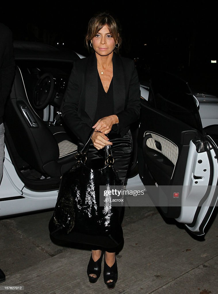 Paula Abdul is seen on December 4, 2012 in Los Angeles, California.