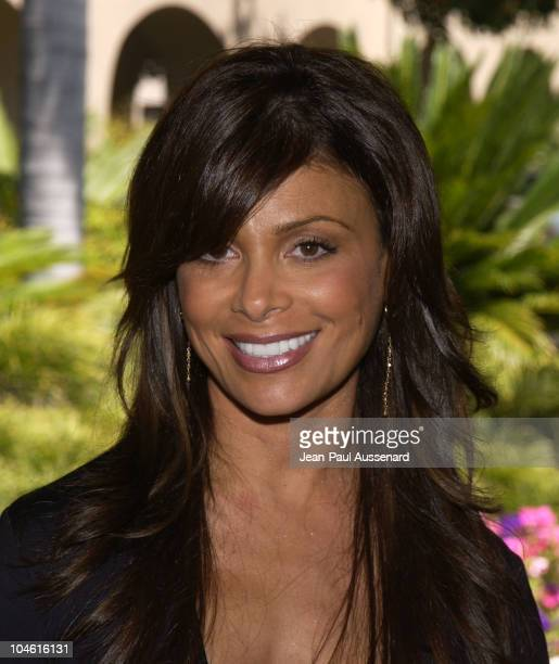 Paula Abdul judge on 'American Idol' during Fox Broadcasting Summer 2002 Press Tour Day 2 at Ritz Carlton Hotel in Pasadena California United States
