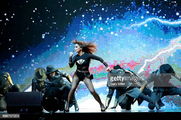 Paula Abdul performs in concert during the Total Package Tour at The Frank Erwin Center on May 21 2017 in Austin Texas