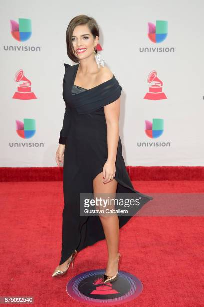 Paula Arenas attends the 18th Annual Latin Grammy Awards at MGM Grand Garden Arena on November 16 2017 in Las Vegas Nevada