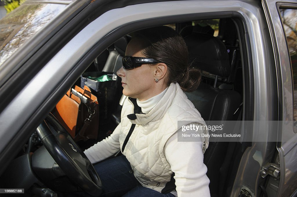 Paula Broadwell leaves her home on Monday, November 19, 2012 in Charlotte, North Carolina.