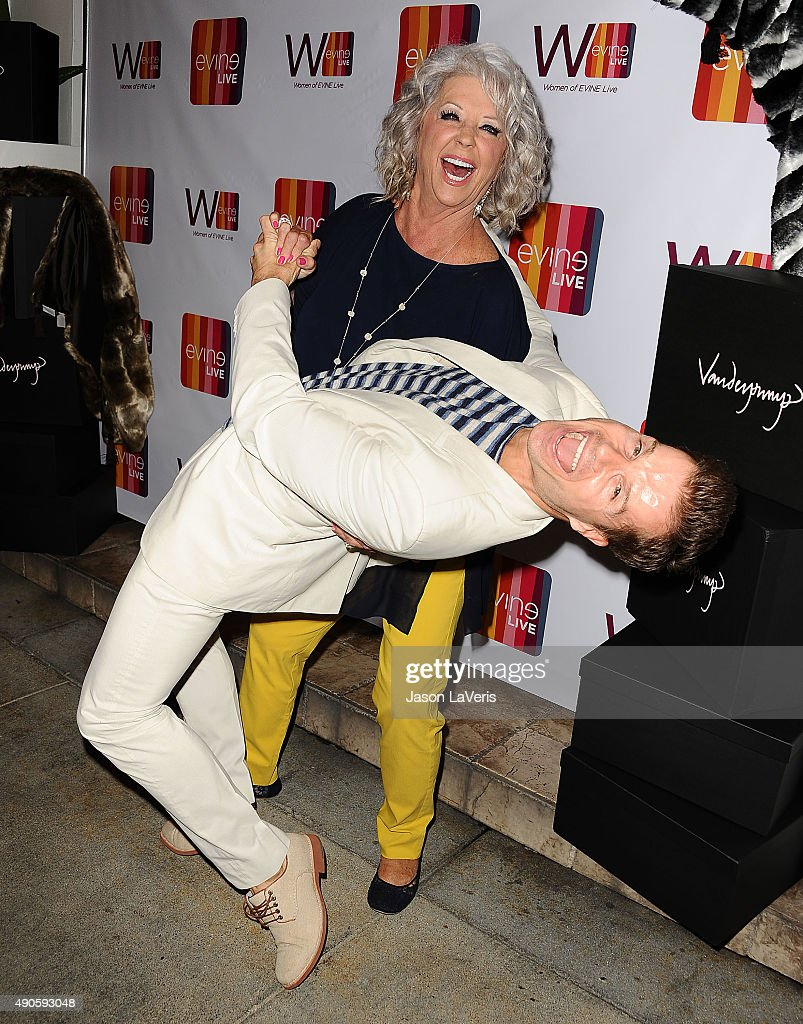 Paula deen photo getty images - Paula Deen And Louis Van Amstel Attend The Evine Live Celebration At Villa Blanca On September