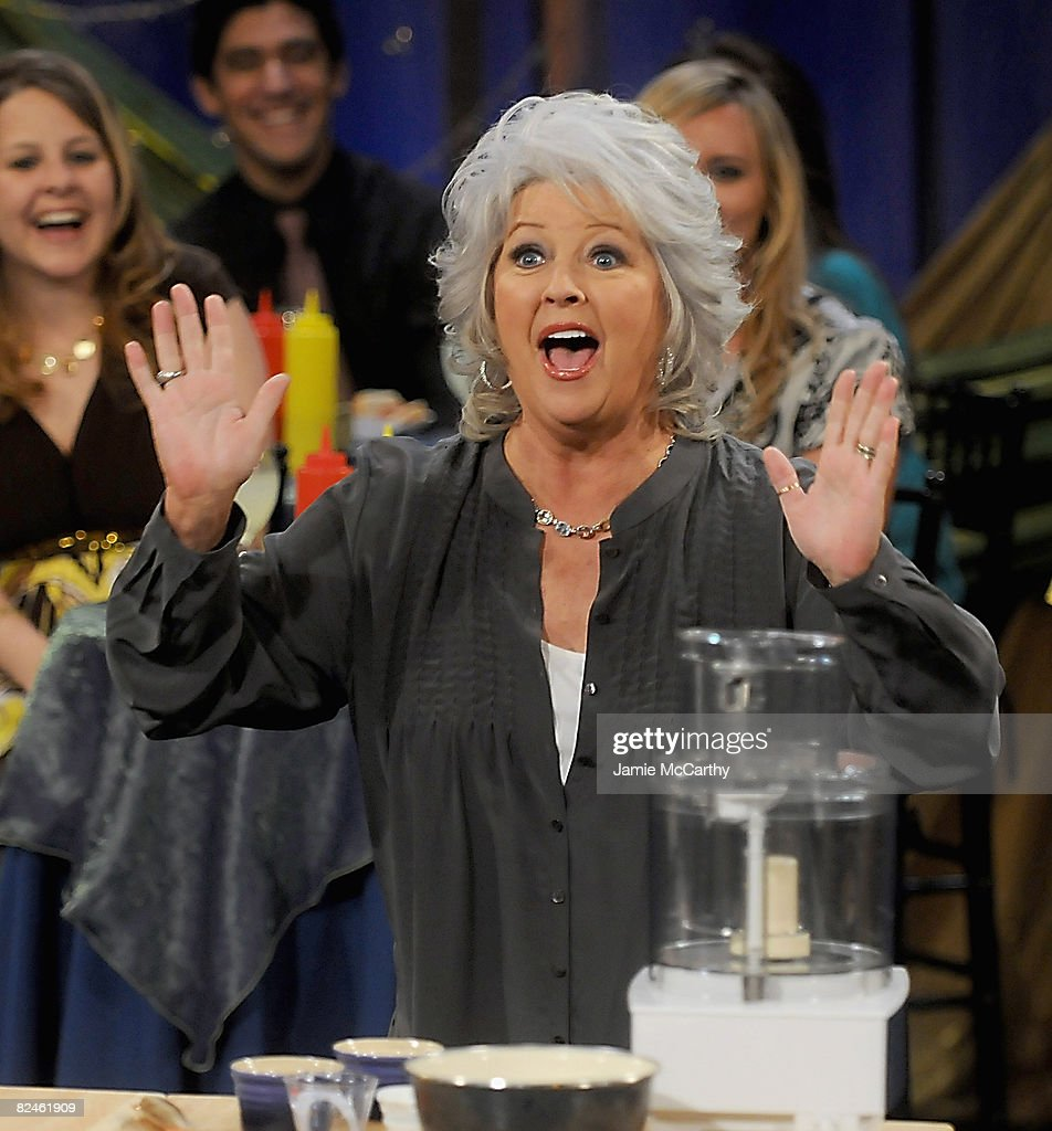 Paula deen photo getty images - Paula Deen On The Set Of Her Show Paula S Party At The Food Network