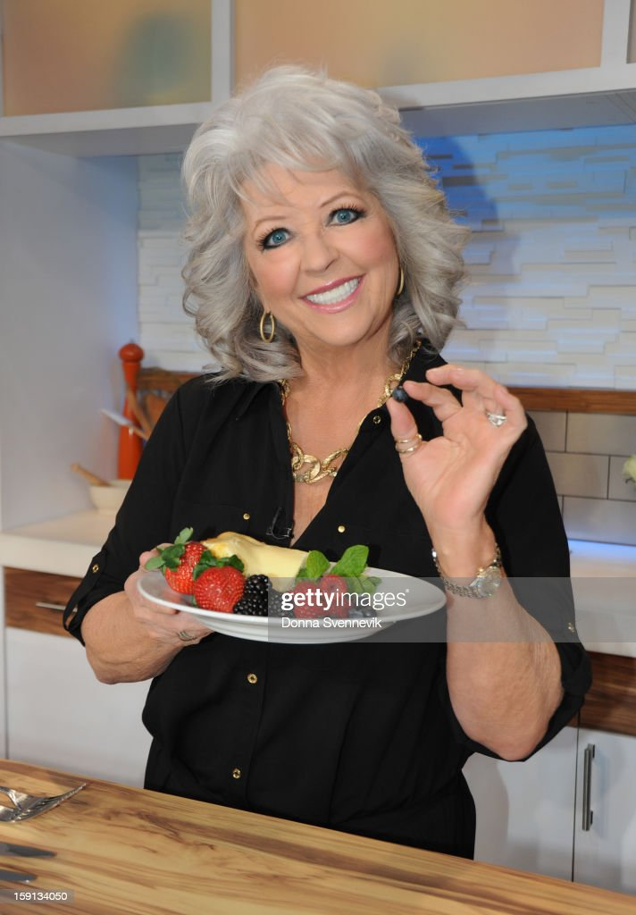 AMERICA - Paula Deen shares recipes on 'Good Morning America,' 1/8/13, airing on the ABC Television Network. (Photo by Donna Svennevik/ABC via Getty Images) PAULA DEEN