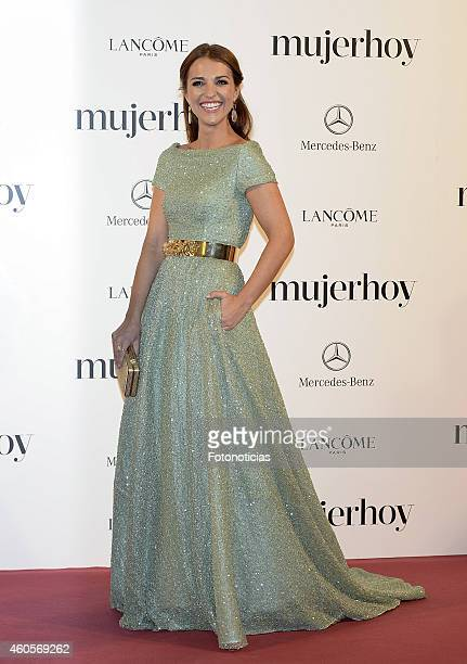 Paula Echevarria attends the 2014 Mujer Hoy Awards at The Palace Hotel on December 16 2014 in Madrid Spain