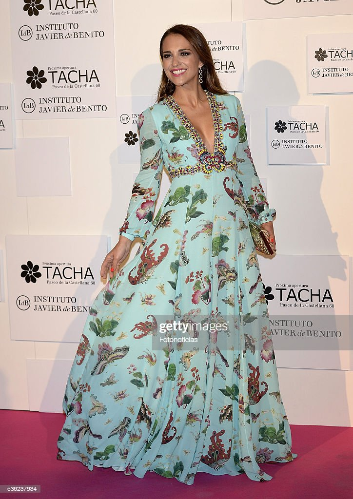 <a gi-track='captionPersonalityLinkClicked' href=/galleries/search?phrase=Paula+Echevarria&family=editorial&specificpeople=4152727 ng-click='$event.stopPropagation()'>Paula Echevarria</a> attends the Tacha Beauty and Javier de Benito Institute party at the Palacio de Santa Coloma on May 31, 2016 in Madrid, Spain.