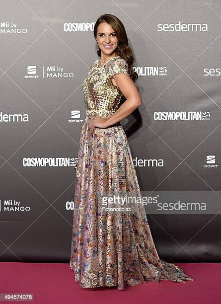 Paula Echevarria attends the VIII Cosmpolitan Awards at The Ritz Hotel on October 27 2015 in Madrid Spain