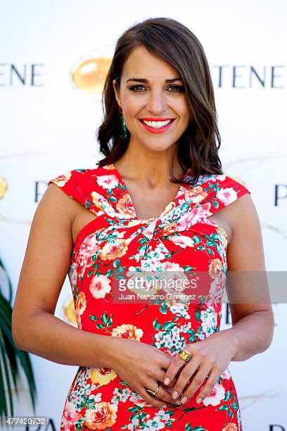 Paula Echevarria attends to the presentation of the Pantene Summer Campaign at Inniside Madrid Genova Hotel on June 17 2015 in Madrid Spain