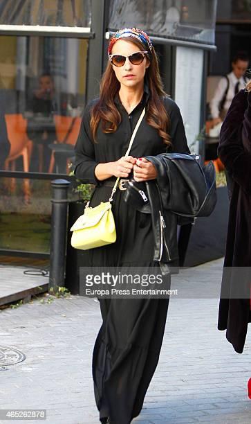 Paula Echevarria is seen on March 4 2015 in Madrid Spain