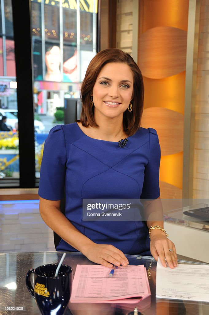 AMERICA - Paula Faris co-anchors 'Good Morning America,' 5/10/13, airing on the ABC Television Network. (Photo by Donna Svennevik/ABC via Getty Images) PAULA