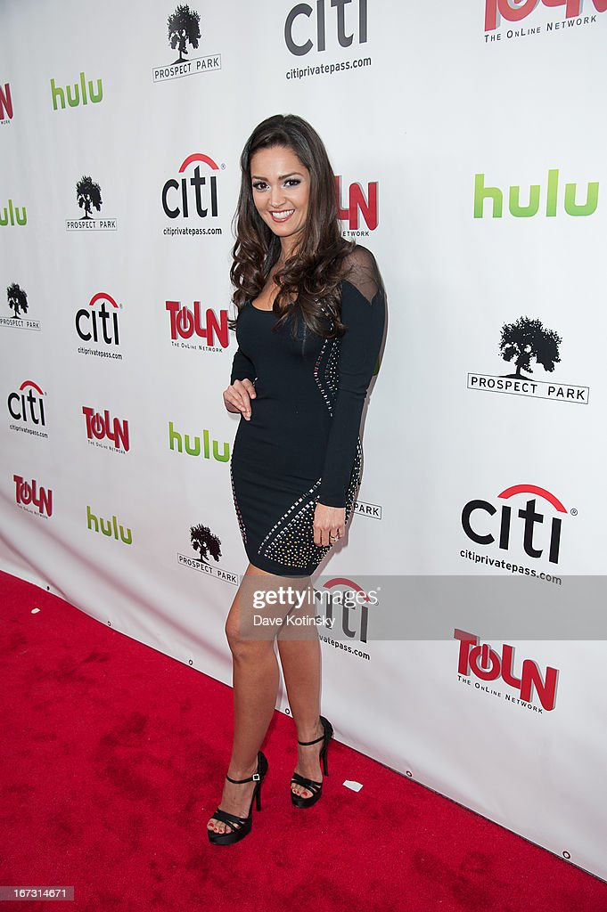 Paula Garces attends the 'All My Children' & 'One Life To Live' premiere at Jack H. Skirball Center for the Performing Arts on April 23, 2013 in New York City.