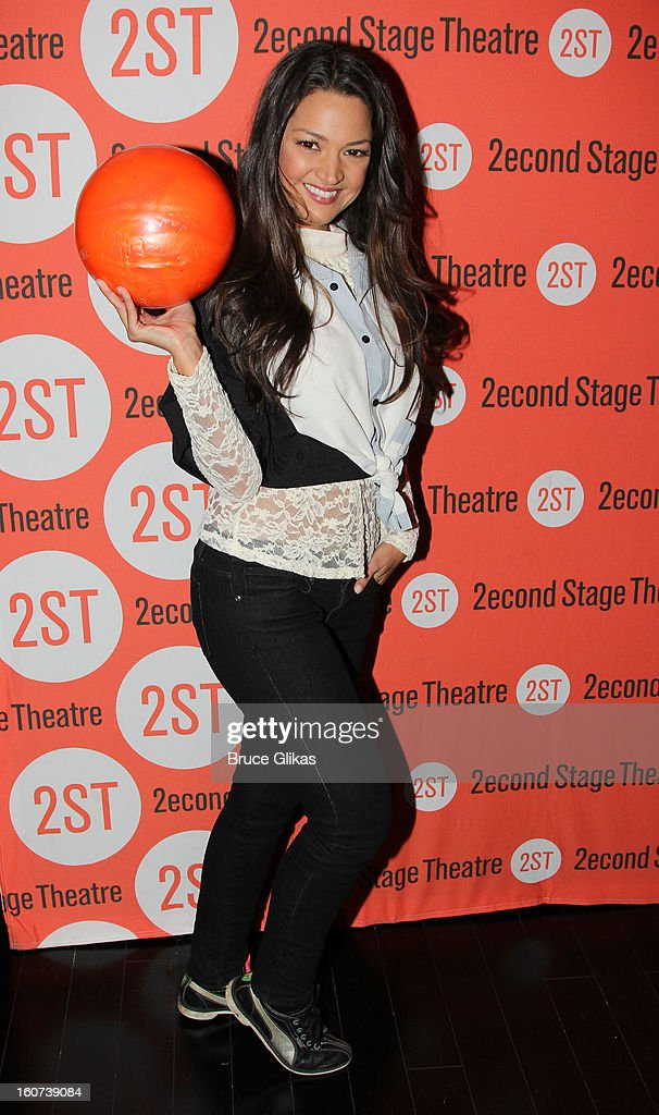 Paula Garces poses at Second Stage Theatre's 26th Annual All-Star Bowling Classic at Lucky Strike on February 4, 2013 in New York City.