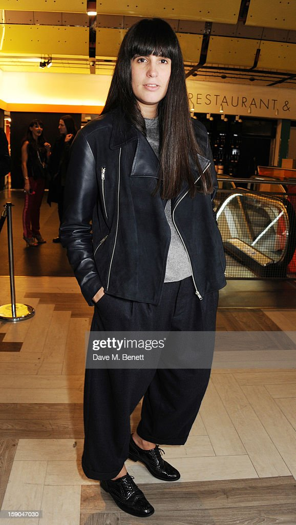 Paula Gerbase attends the launch of 1205 Paula Gerbase hosted by Harvey Nichols on January 6, 2013 in London Engand.