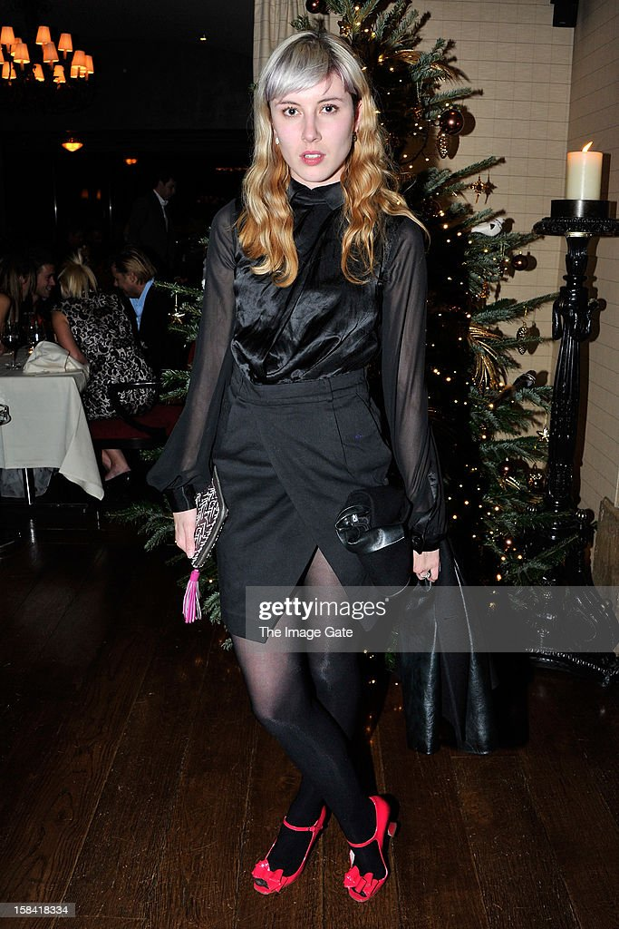 Paula Goldstein attends the ASMALLWORLD Champagne Diamond Apero at the Gstaad Palace Hotel on December 14, 2012 in Gstaad, Switzerland.