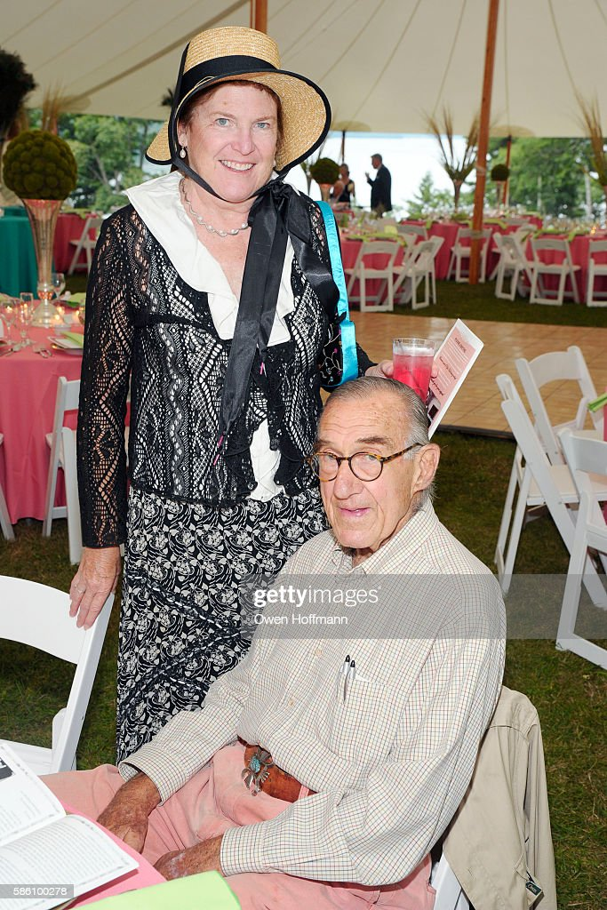 Paula Hansel and Andy Blum attend Hyde Hall Honors Christopher Ohrstrom and Steven Larson at The Grand Tour Summer Gala at Hyde Hall on July 30 2016...