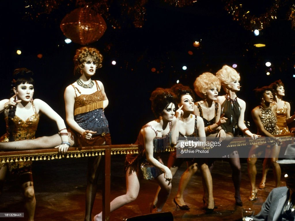 Paula Kelly Chita Rivera and others perform in a scene from the film 'Sweet Charity' 1969