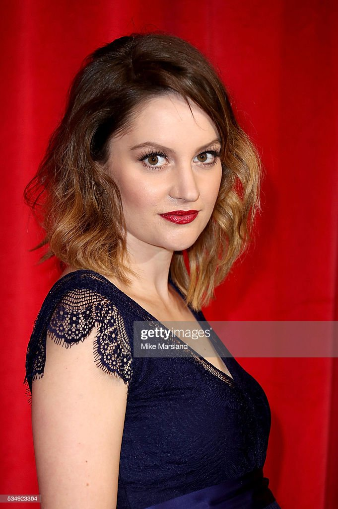 Paula Lane attends the British Soap Awards 2016 at Hackney Empire on May 28, 2016 in London, England.
