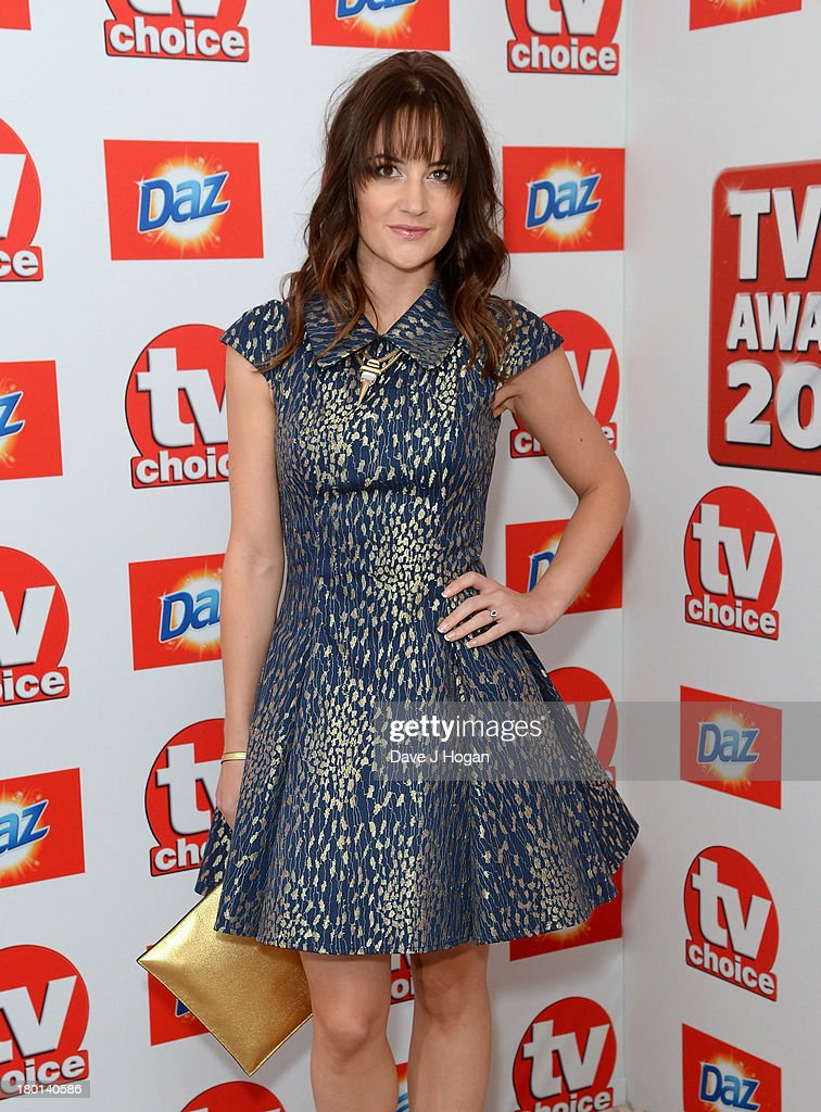 Paula Lane attends the TV Choice Awards 2013 at The Dorchester on September 9, 2013 in London, England.