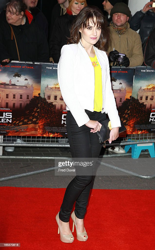 Paula Lane attends the UK Premiere of 'Olympus Has Fallen' at BFI IMAX on April 3, 2013 in London, England.