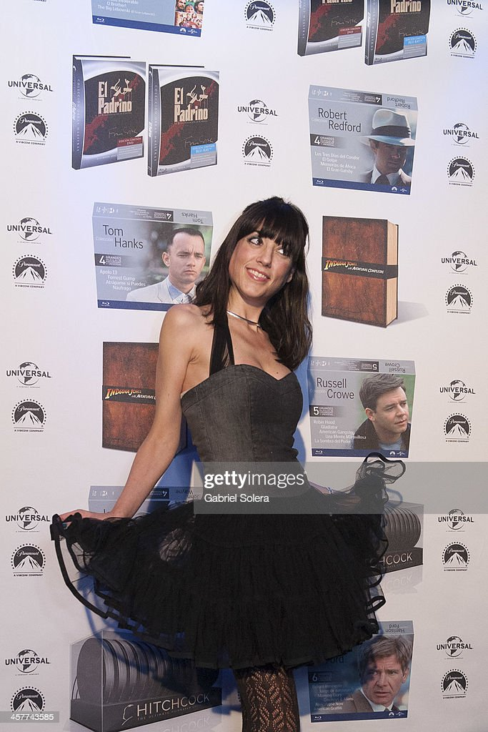 Paula Meliveo attends Paramount Cinema Party at Tiffany's on December 18, 2013 in Madrid, Spain.