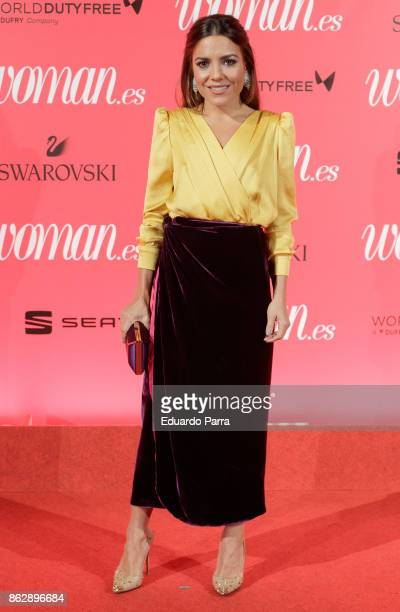 Paula Ordovas attends the 'Woman 25th anniversary' photocall at Madrid Casino on October 18 2017 in Madrid Spain