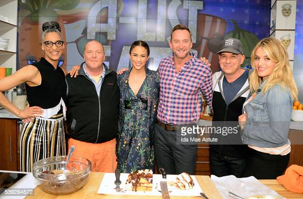 THE CHEW 6/9/16 Paula Patton and Mike Epps appear on THE CHEW airing MONDAY FRIDAY on the ABC Television Network OZ