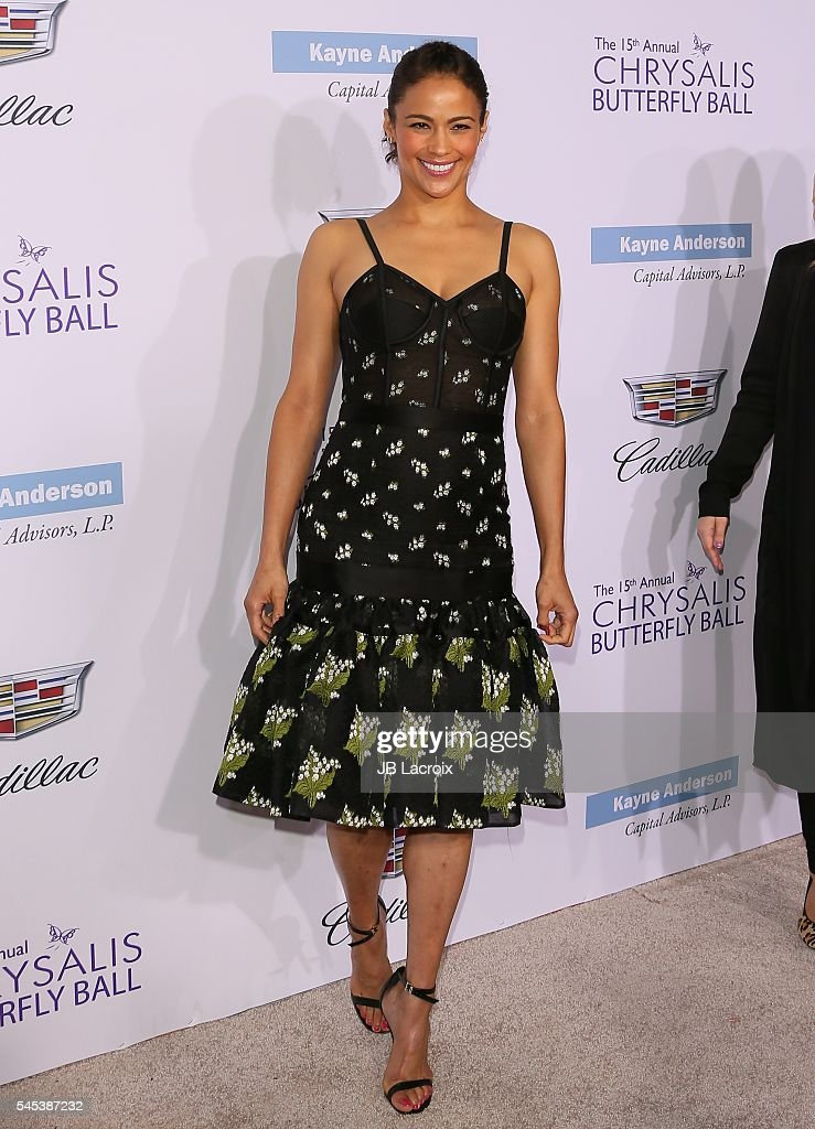 Paula Patton arrives at the 15th Annual Chrysalis Butterfly Ball at a private residence on June 11 2016 in Brentwood California