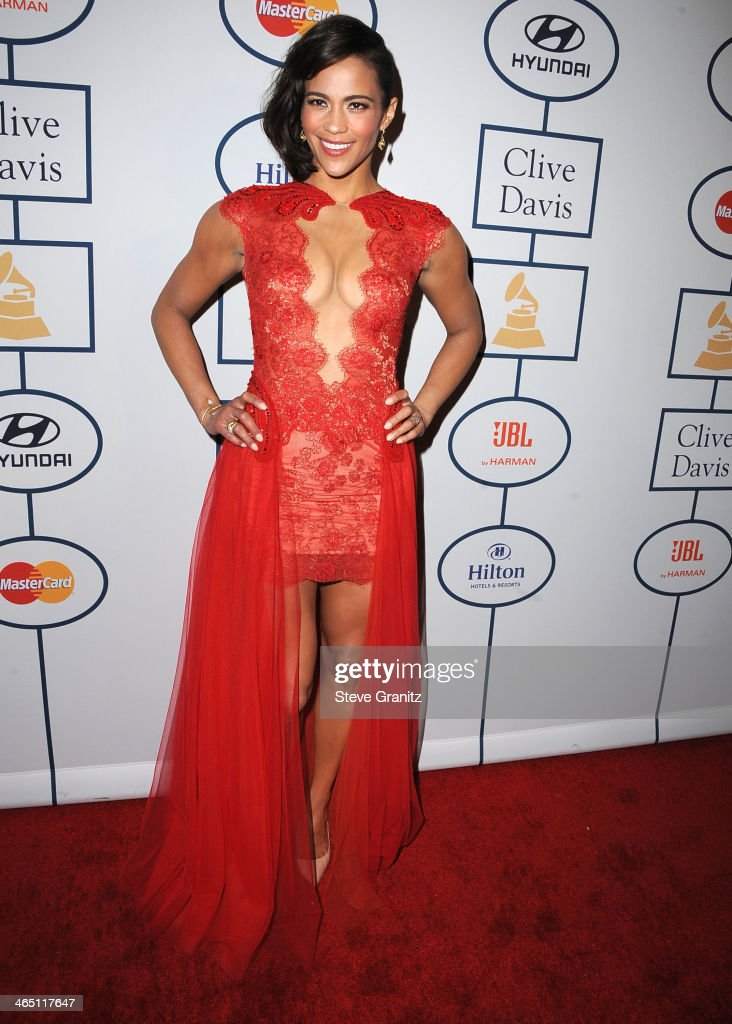 <a gi-track='captionPersonalityLinkClicked' href=/galleries/search?phrase=Paula+Patton&family=editorial&specificpeople=752812 ng-click='$event.stopPropagation()'>Paula Patton</a> arrives at the Clive Davis And The Recording Academy Annual Pre-GRAMMY Gala at The Beverly Hilton Hotel on January 25, 2014 in Beverly Hills, California.