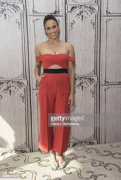 Paula Patton attends the AOL Speaker Series to discuss 'Warcraft' at AOL Studios In New York on June 8 2016 in New York City