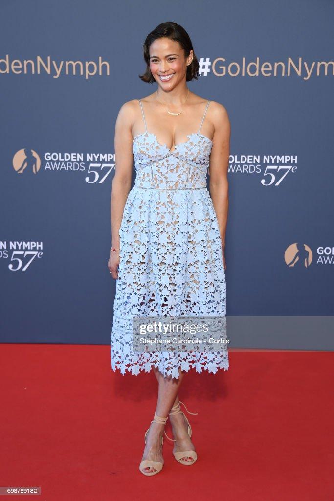 Paula Patton attends the Closing Ceremony of the 57th Monte Carlo TV Festival on June 20, 2017 in Monte-Carlo, Monaco.