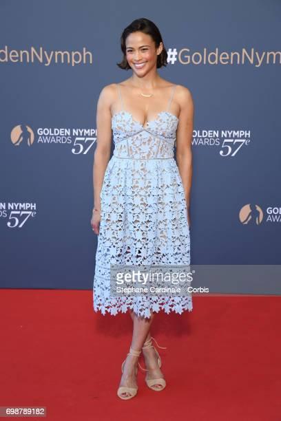 Paula Patton attends the Closing Ceremony of the 57th Monte Carlo TV Festival on June 20 2017 in MonteCarlo Monaco