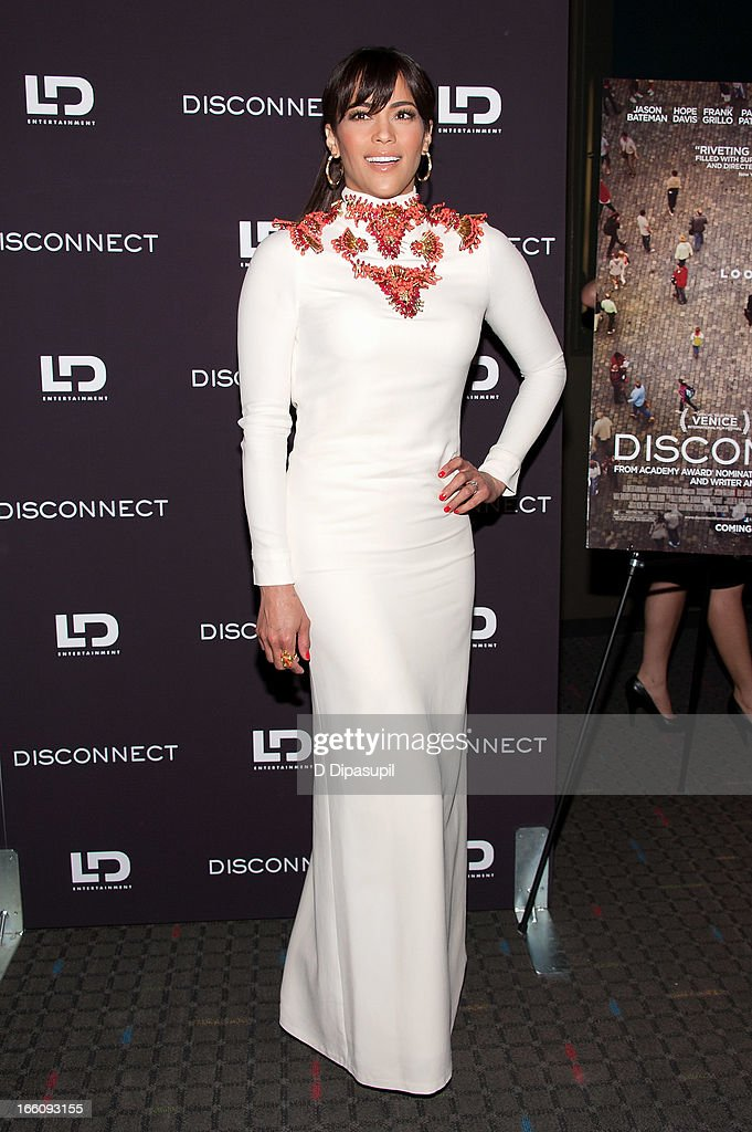 Paula Patton attends the 'Disconnect' New York Special Screening at SVA Theater on April 8, 2013 in New York City.