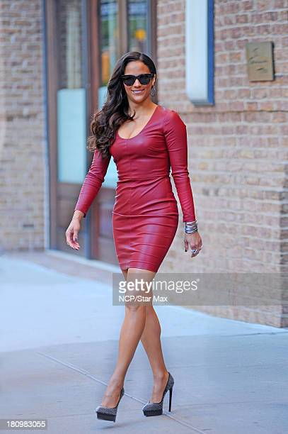 Paula Patton is seen on September 18 2013 in New York City