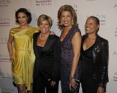 Paula Patton Suze Orman Hota Kotb and Sapphire attend the Avon Foundation's 'Champions Who Change Women's Lives' celebration at Cipriani 42nd Street...