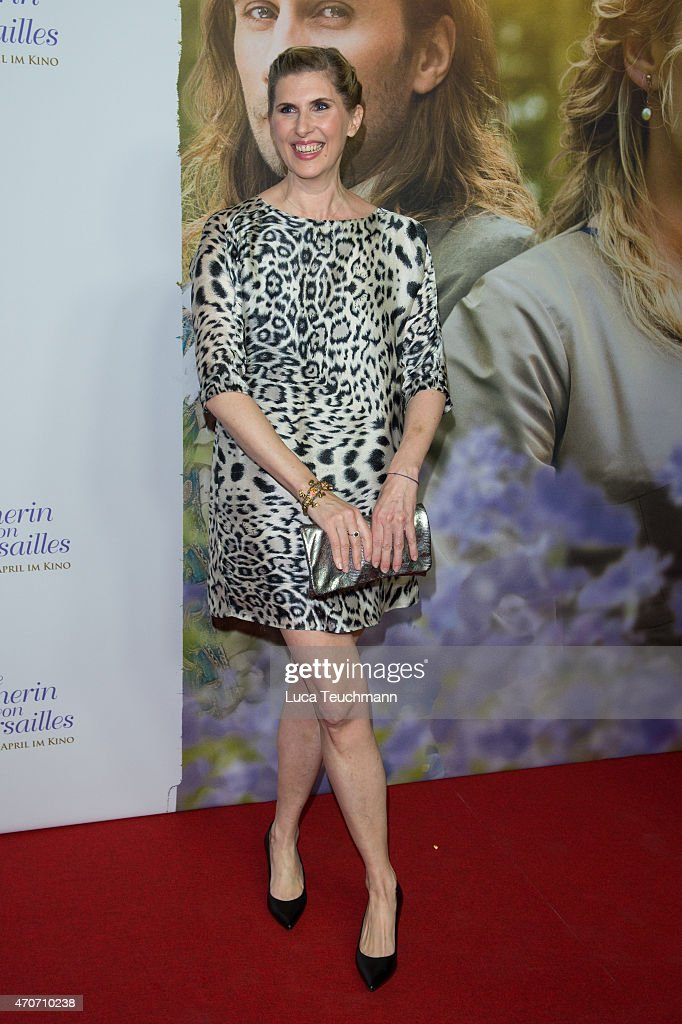 Paula Paul attends the German premiere for the film 'A Little Chaos' at Kino in der Kulturbrauerei on April 22 2015 in Berlin Germany