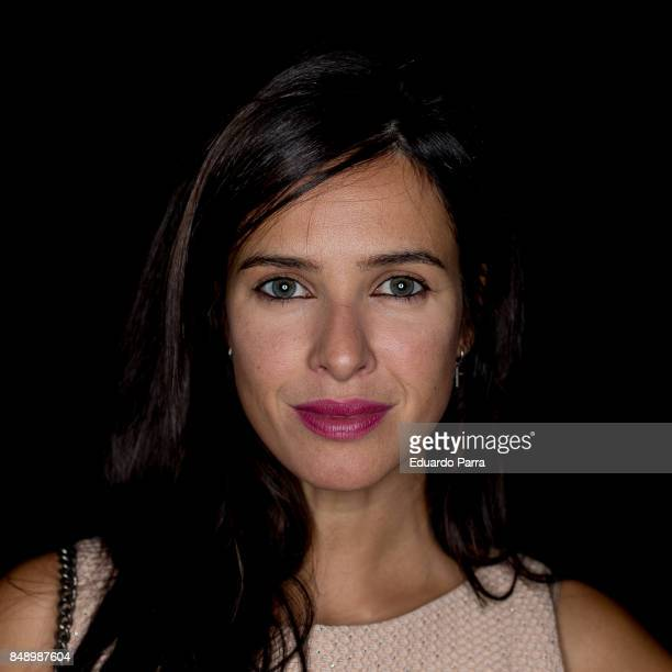 Paula Pendes attends the Hannibal Laguna catwalk during the Mercedes Benz Fashion Week Spring / Summer 2017 at IFEMA on September 17 2017 in Madrid...