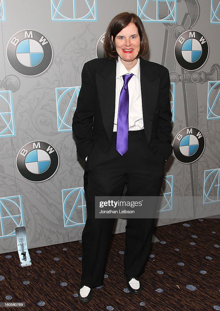 Paula Poundstone arrives to the 17th Annual Art Directors Guild Awards For Excellence In Production Design presented by BMW at The Beverly Hilton Hotel on February 2, 2013 in Beverly Hills, California.