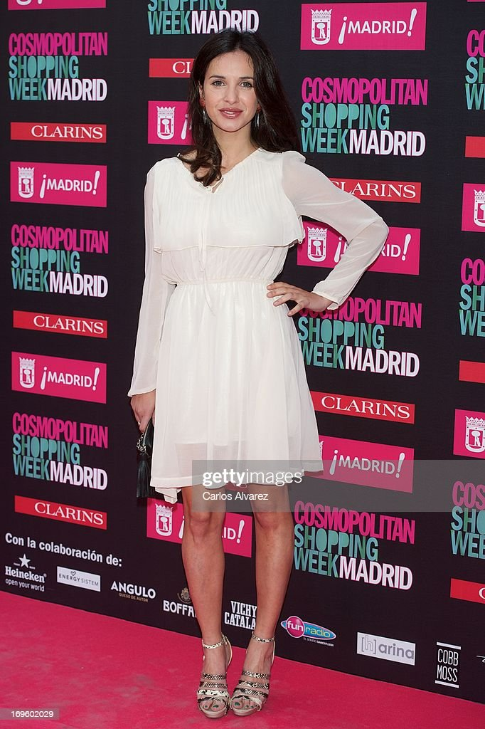 Paula Prendes attends the 'Cosmopolitan Shopping Week' party at the Plaza de Callao on May 28, 2013 in Madrid, Spain.