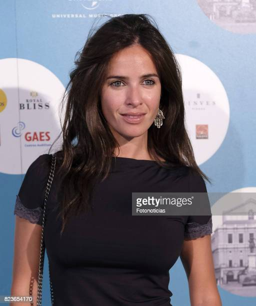 Paula Prendes attends the James Rhodes Universal Music Festival concert at The Royal Theater on July 27 2017 in Madrid Spain