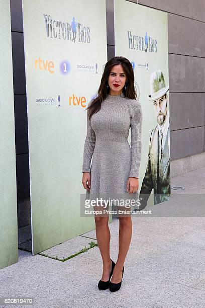 Paula Prendes attends 'Victor Ros' photocall at Academia de Cine on November 2 2016 in Madrid Spain