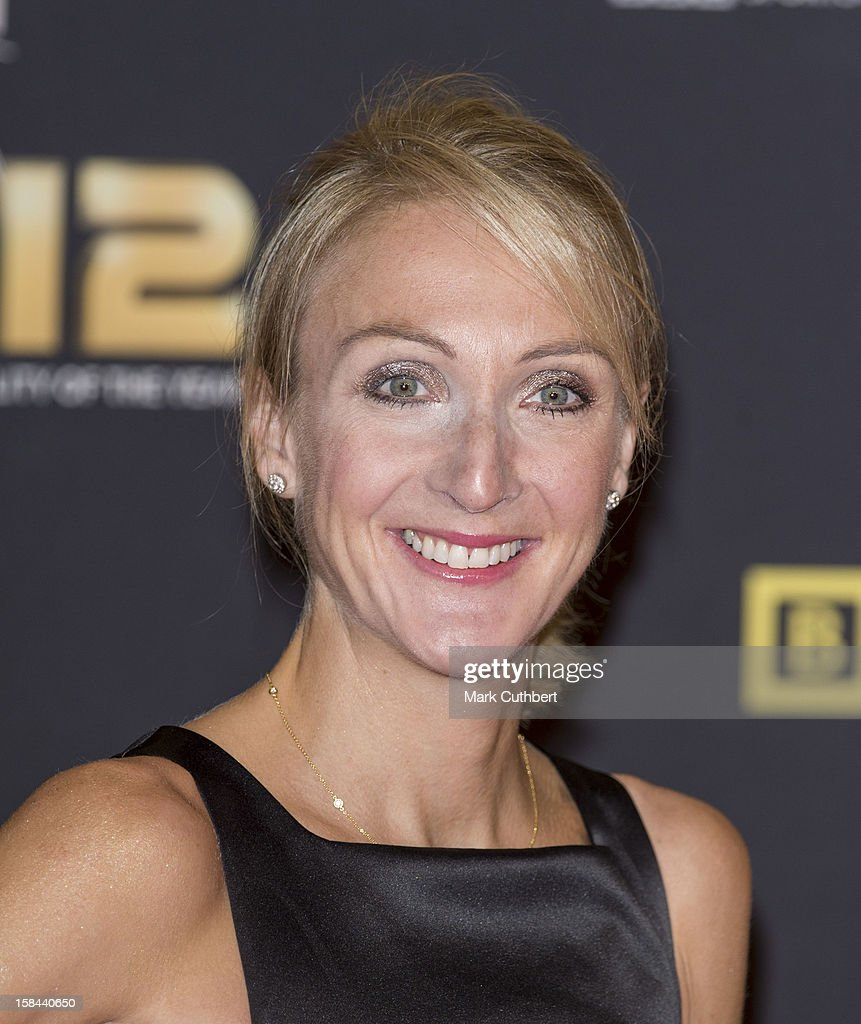 Paula Radcliffe attends the BBC Sports Personality Of The Year Awards at ExCel on December 16, 2012 in London, England.