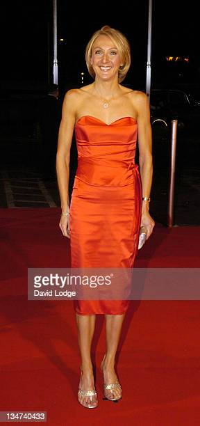 Paula Radcliffe during 2005 BBC Sports Personality of the Year at BBC Television Centre in London Great Britain