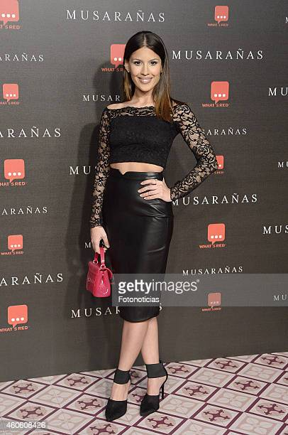 Paula Rego attends the 'Musaranas' Premiere at the Capitol Cinema on December 17 2014 in Madrid Spain