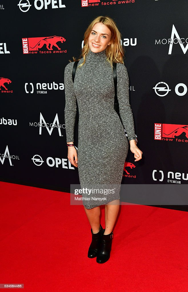 Paula Riemann during the New Faces Award Film 2015 at ewerk on May 26, 2016 in Berlin, Germany.